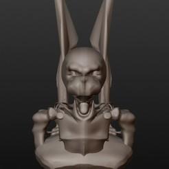 3D print model Skeleton Warrior (Fantastic Busts Series), Majin59
