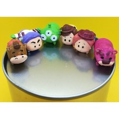 Sans titre 2.jpg Download STL file Tsum Tsum my way: Toy's Story (6 figures) • 3D printer design, Majin59