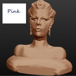 Archivos STL Pink, cantante, Majin59