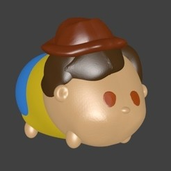 3D printing model Woody, Toy Story, Majin59