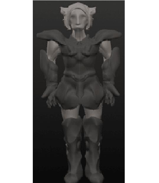 chevalier 5.png Download OBJ file 10 Intergalactic Humanoids • 3D print object, Majin59