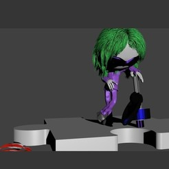 Download 3D printer designs HALLOWEN JOKER SULFATE, Majin59