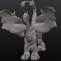 STL files Dragon scorpion, Majin59