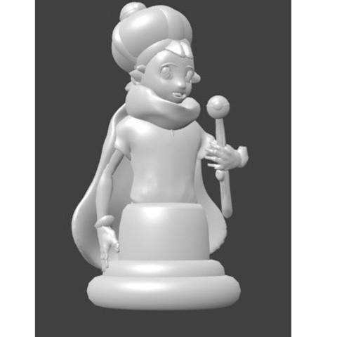 roi sacha.jpg Download STL file Pokémon, King Sacha, Sacha's King, Ash Ketchum • 3D printer model, Majin59