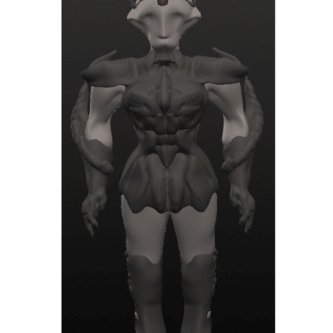 chevalier 4.png Download OBJ file 10 Intergalactic Humanoids • 3D print object, Majin59