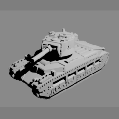 Download 3D printer model ASSAULT SERIES: MATILDA A12 II, Majin59
