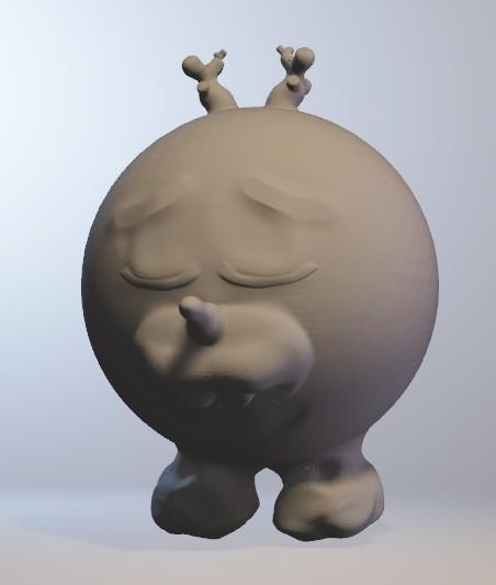 olafan.jpg Download free OBJ file olafan (boy snowman minitoys series) • 3D printable object, Majin59