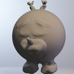 Download free 3D print files olafan (boy snowman minitoys series), Majin59
