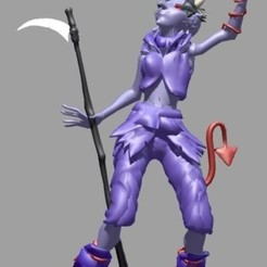 Download STL Daemonette Goat, Majin59