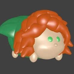 3d model Merida, Rebel, Majin59