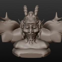 Archivos 3D SÚCUBO (bustos fantástica serie), Majin59