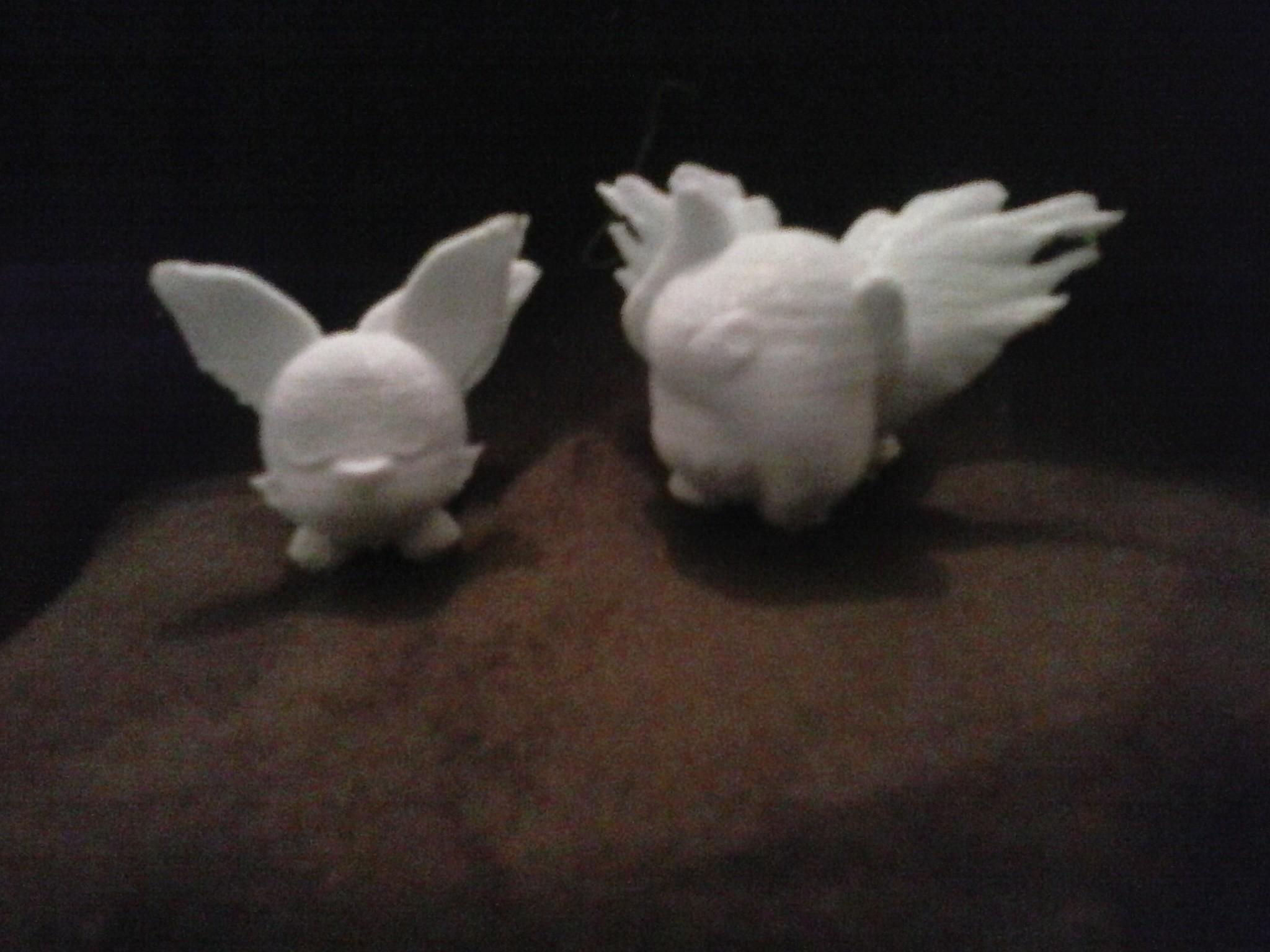 feunnec absol.jpg Download STL file Pickachu • 3D printable design, Majin59