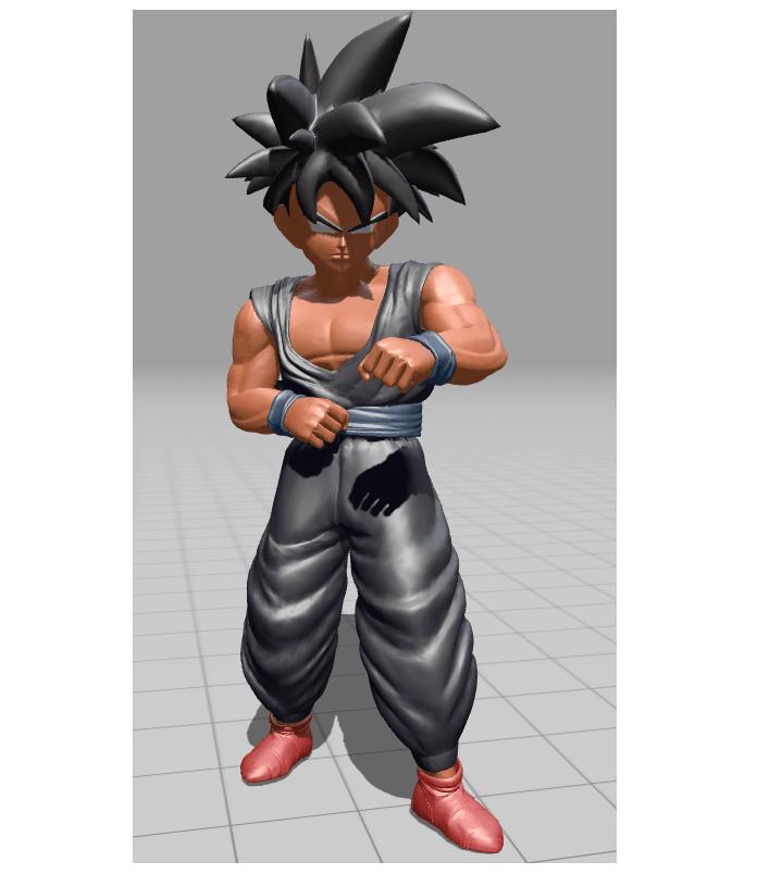 son gohan posture entrainement 71.png Download STL file Son Gohan, Piccolo cape • Object to 3D print, Majin59