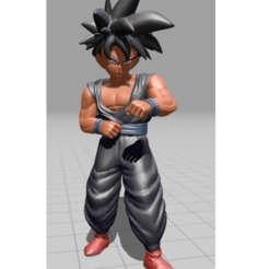 son gohan posture entrainement 71.png Download STL file Son Gohan, Piccolo cape • Object to 3D print, Majin59