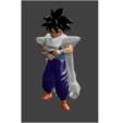 son gohan cape.png Download STL file Son Gohan, Piccolo cape • Object to 3D print, Majin59