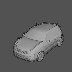 Download 3D printer templates Volkswagen lupo, Majin59
