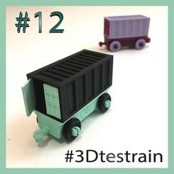 Testrain12.jpg Télécharger fichier STL gratuit 3DTestrain #12 (compatible brio/lego) • Plan imprimable en 3D, serial_print3r