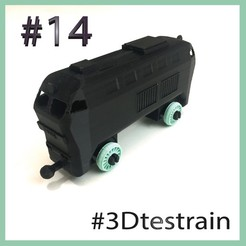 Testrain14.jpg Download free STL file 3Dtestrain #13 locomotive engine (brio compatible) • 3D printing template, serial_print3r