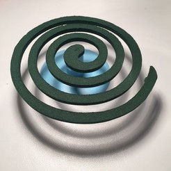 Download free 3D printer model Mosquito coil holder, serial_print3r