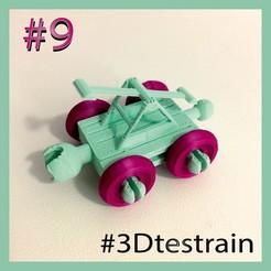 Testrain_P9.jpg Télécharger fichier STL gratuit 3DTestrain #9 (compatible avec brio) • Plan pour imprimante 3D, serial_print3r