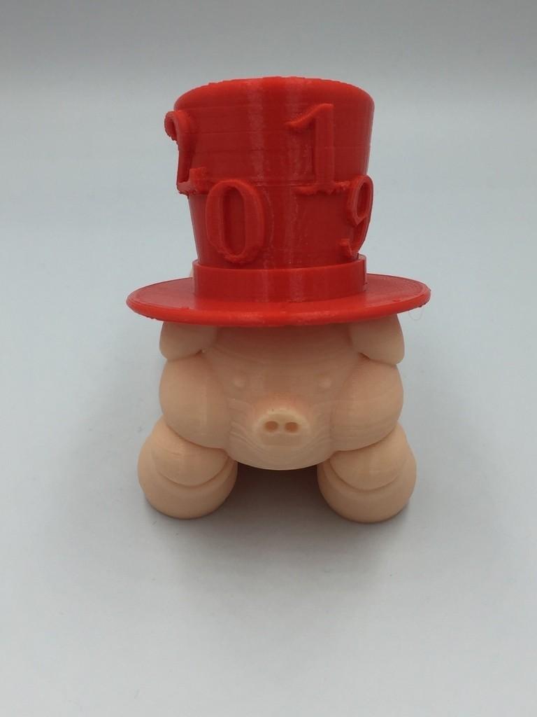 09b52c118edf39eeafb7bd3b70e7ea3f_display_large.JPG Télécharger fichier STL gratuit PIG - Remix du Nouvel An chinois • Modèle pour impression 3D, serial_print3r