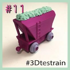 Testrain11.jpg Télécharger fichier STL gratuit 3DTestrain #11 (compatible avec brio) • Modèle imprimable en 3D, serial_print3r