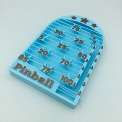Download 3D printer templates PINBALL BAGATELLE GAME (FULLY 3D PRINTED), serial_print3r