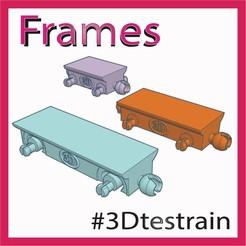 Frames.jpg Télécharger fichier STL gratuit 3DTestrain - Cadres (compatible avec brio) • Objet pour impression 3D, serial_print3r