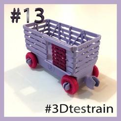 Testrain_13.jpg Télécharger fichier STL gratuit 3DTestrain #13 (compatible avec brio) • Design pour impression 3D, serial_print3r