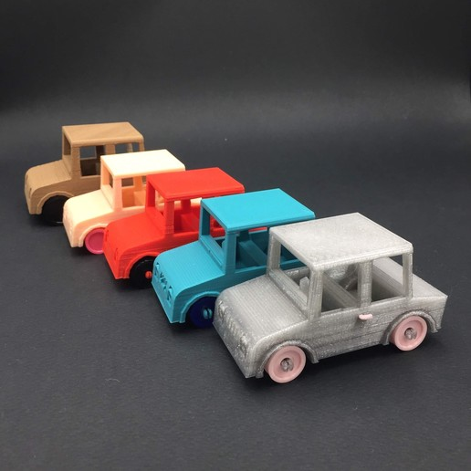 Download Free 3D Printer Model Toy Car