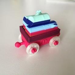 Descargar modelo 3D gratis 3DTestrain - Vagón 4 (compatible con brío), serial_print3r