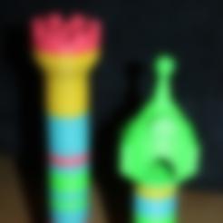 Download free 3D model Tower rapunzel / castle - duplo compatible, serial_print3r