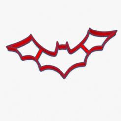 Download 3D print files Cookie Cutter Bat Batman Vampirina Covid Cortante Galletita Murcielago , ELREYSALE