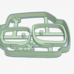zombiff_zombie.PNG Télécharger fichier STL Coupe-biscuit Zombiff Zombie Infection Coupe-biscuit • Plan imprimable en 3D, ELREYSALE