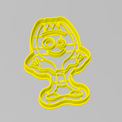 cuchara_toy_story.PNG Download STL file Cookie Cutter Forky Toy Story Cutter • 3D printable design, ELREYSALE