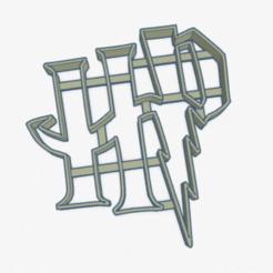 iniciales harry potter.PNG Download STL file Cookie Cutter Harry Potter HP Cookie Cutter • 3D printer design, ELREYSALE