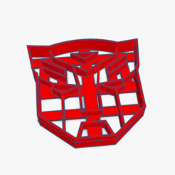 Download 3D printing files Cookie Cutter AutoBot Transformers Cortante Galletita , ELREYSALE