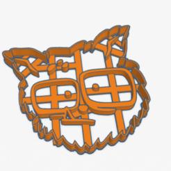 wolf_zombie_infection.PNG Télécharger fichier STL Coupe-biscuits Loup Zombie Infection Coupe-biscuits • Modèle à imprimer en 3D, ELREYSALE