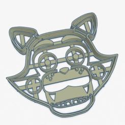 foxy.PNG Télécharger fichier STL Coupe-biscuits Foxy Coupe-biscuits • Design pour impression 3D, ELREYSALE