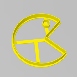 pacman.PNG Download STL file Cookie Cutter Pacman Cookie Cutter • 3D printer design, ELREYSALE