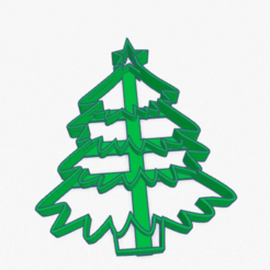 Download STL Cookie Cutter Christmas Tree Cortante Galletita Arbol Navidad, ELREYSALE
