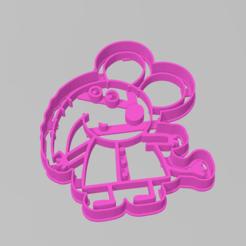 Download 3D printer files Cookie Cutter Elephant Peppa Pig Cookie, ELREYSALE