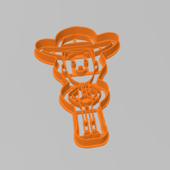 woody_toy_story.PNG Download STL file Cookie Cutter Sheriff Woody Toy Story Cutter • 3D printable object, ELREYSALE