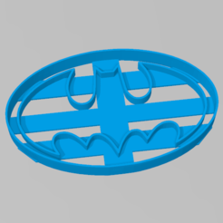 batman_circulo.PNG Download STL file Cookie Cutter Batman Superhero Cookies SuperHeroes Heroes • Design to 3D print, ELREYSALE