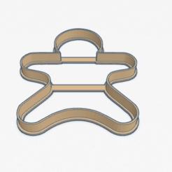 Télécharger plan imprimante 3D Coupe-biscuits Pain d'épices Coupe-biscuits Pain d'épices, ELREYSALE
