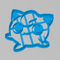 kirby1.PNG Download STL file Cookie Cutter Kirby Cookie Cutter • 3D printing design, ELREYSALE