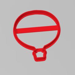 globo_aerostatico2.PNG Télécharger fichier STL Cookie Cutter ballon à air chaud Cookie Cutter ballon à air chaud • Plan imprimable en 3D, ELREYSALE