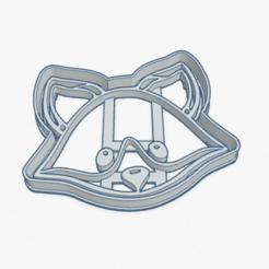 Download 3D model Cookie Cutter Little Fox Cortante Galletita Zorro Zorrito, ELREYSALE