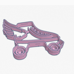 Descargar modelos 3D para imprimir Cookie Cutter roller skates Soy Luna Cortante Galletita Patines, ELREYSALE
