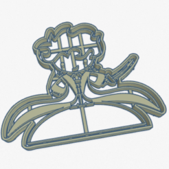 Download 3D printer designs Cookie Cutter Little Prince Cookie Cutter, facugb